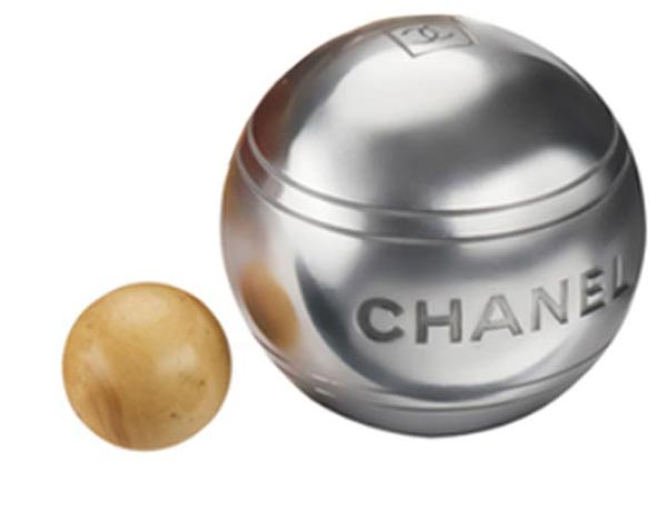 Alexa Chung with Chanel Bocce Ball Set. Petanque – Chanel Bocce Ball