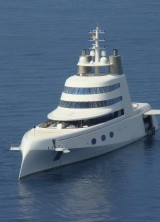 "Depth Video Tour of Philippe Starck Megayacht ""A"""