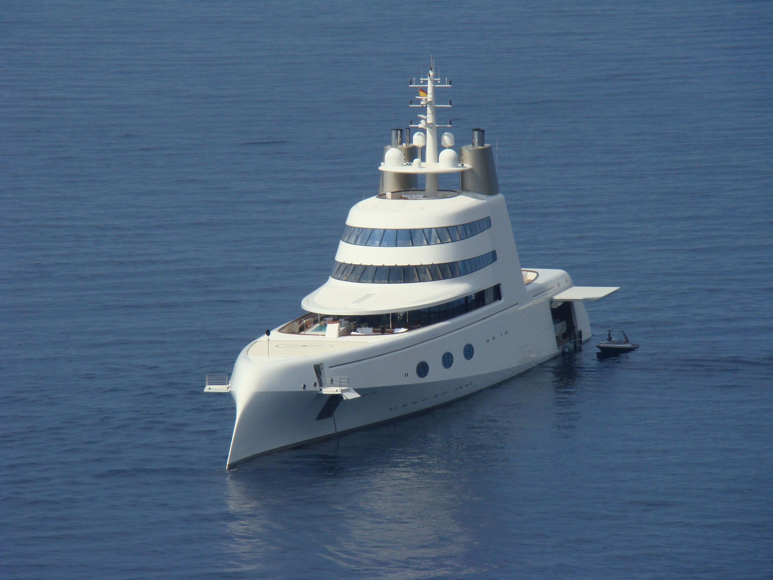 Depth Video Tour of Philippe Starck Megayacht &#8220;A&#8221;