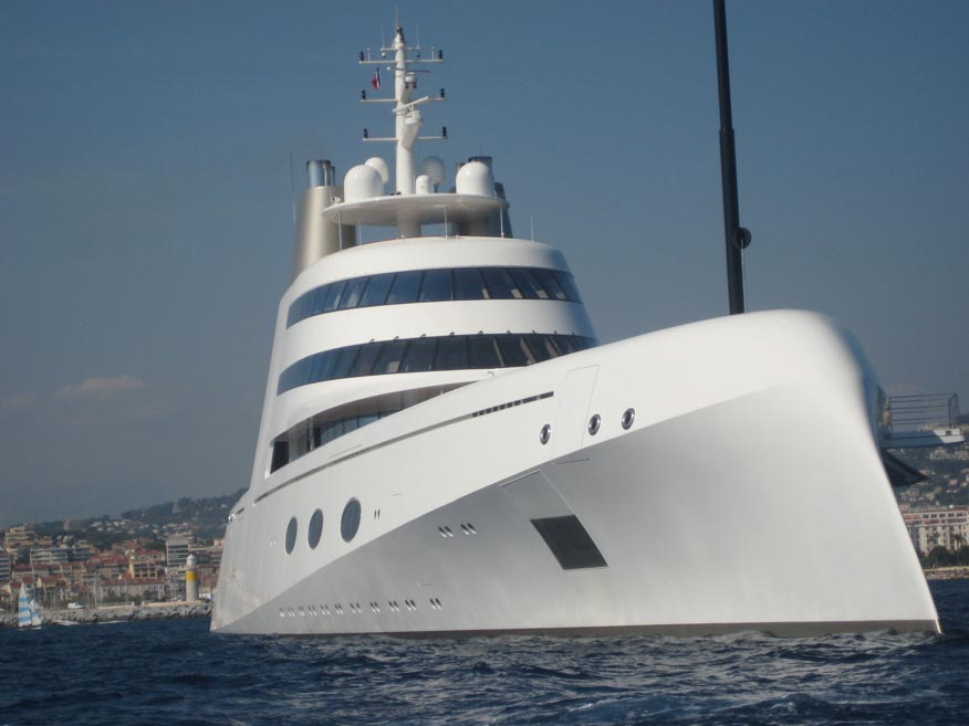 """Philippe Starck Megayacht """"A"""""""