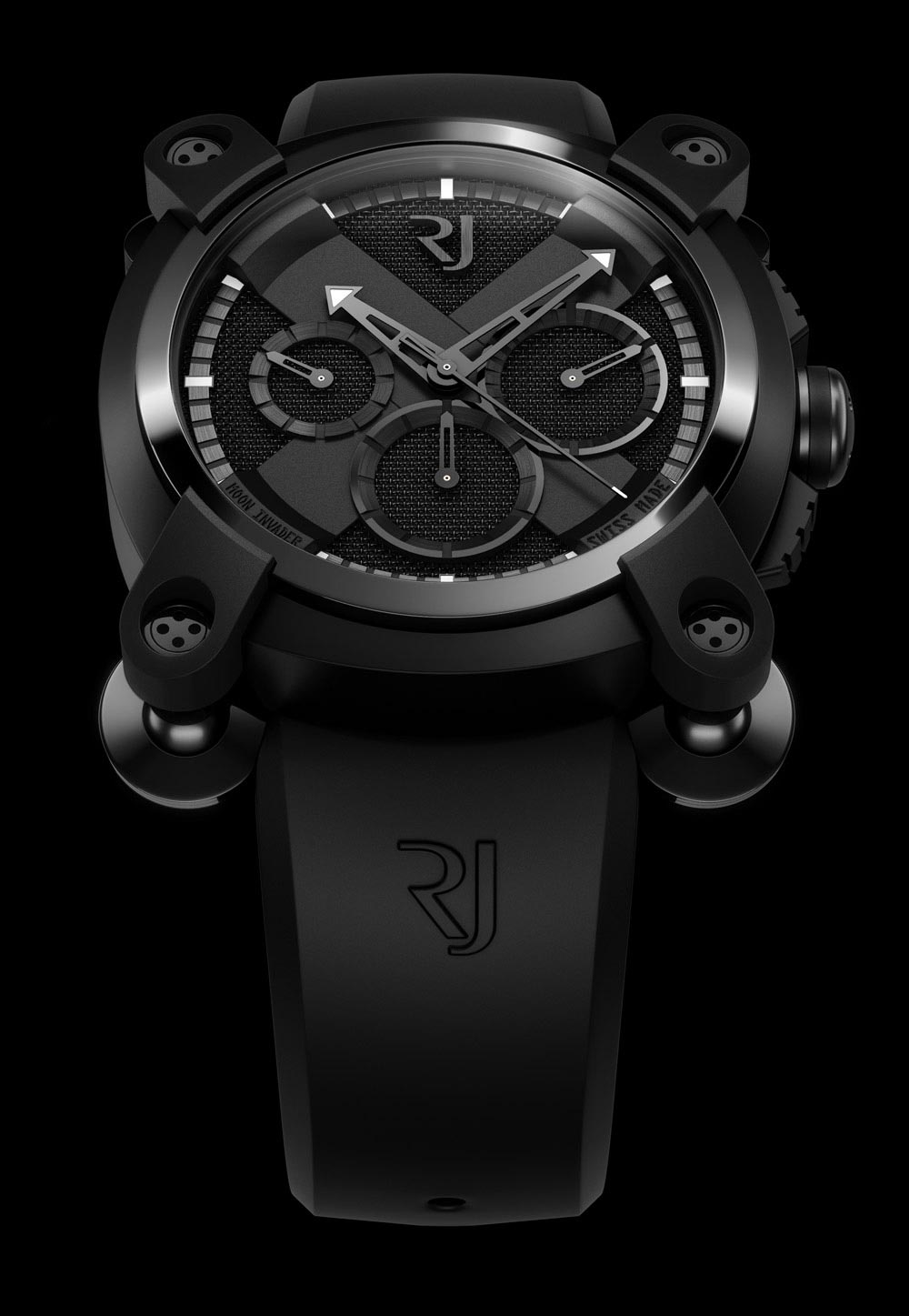 Moon Invader Chronographe Black Metal
