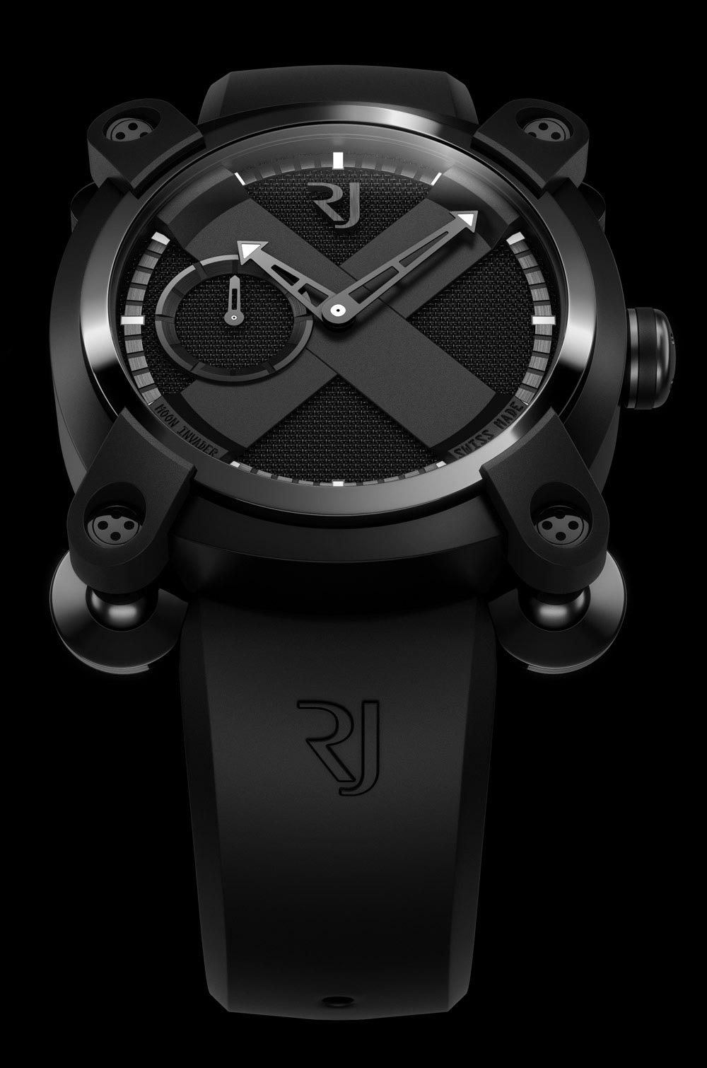 Romain Jerome Moon Invader Watch Collection Made From Spare Parts from Apollo 11