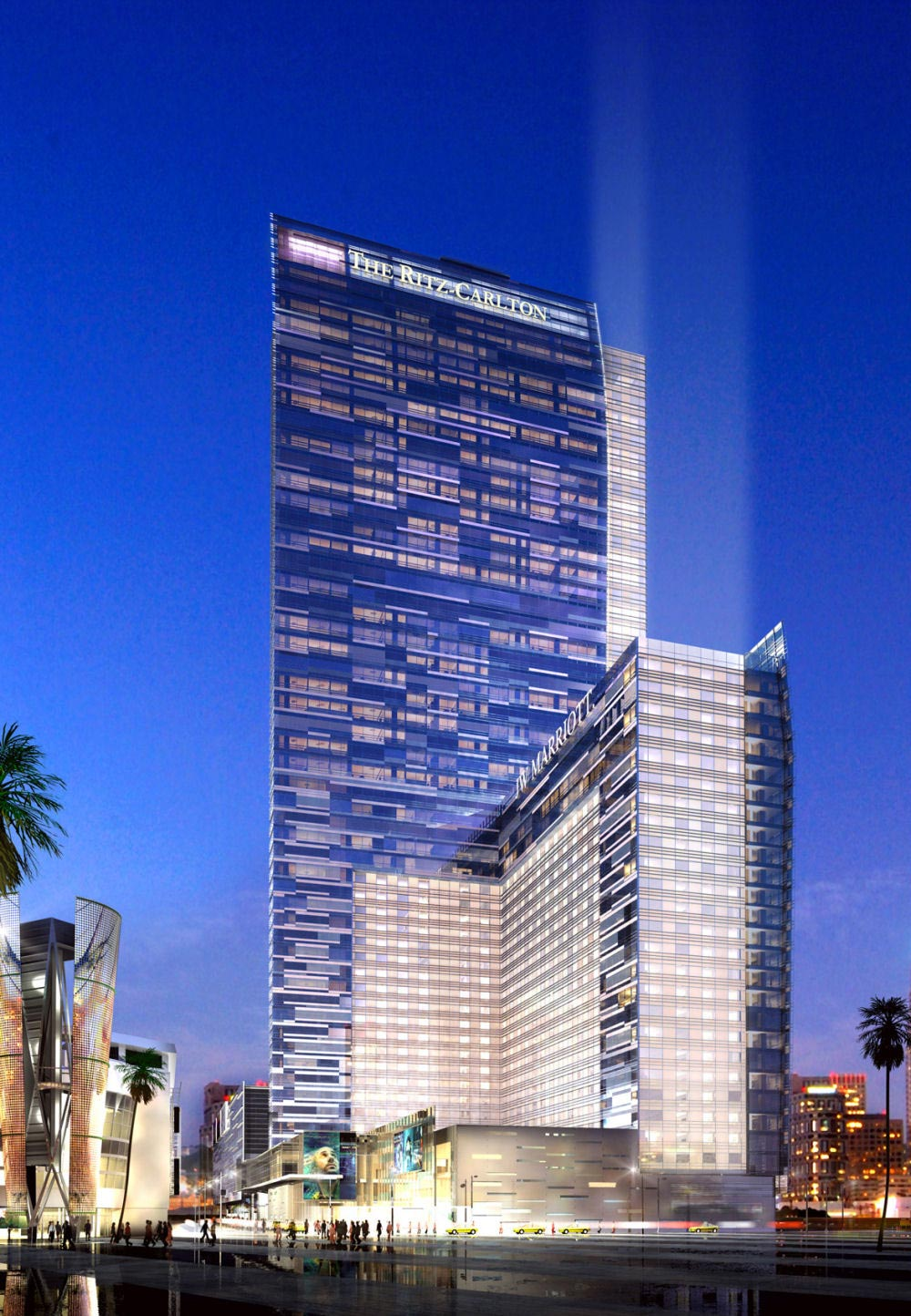 Ritz-Carlton Los Angeles &#8211; First Five-Star hotel in Downtown L.A. Opens