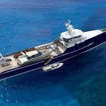 Sea Axe – Fast Yacht Support Ship Offer Complete Cruise Logistics