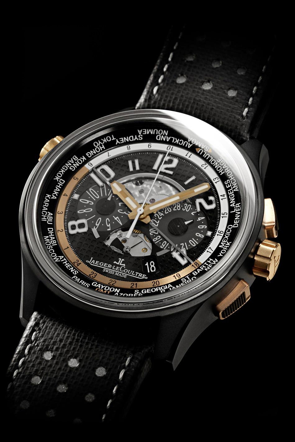 AMVOX5 World Chronograph &#8211; Jaeger-LeCoultre and Aston Martin Partnerships Latest Creation