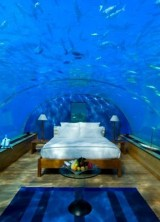 Sleep Underwater in Hilton Maldives Resort & Spa Rangali Island