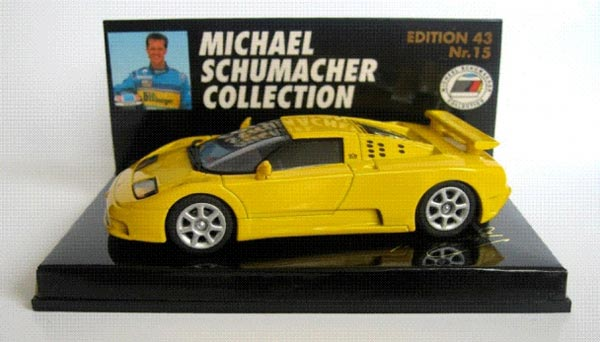 Yellow Bugatti EB 110 Super Sport Owned by Michael Schumacher Listed for Sale on JamesList