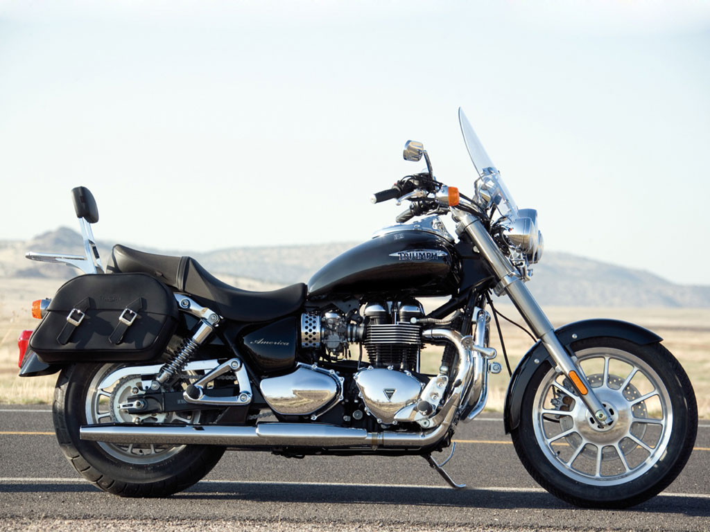2010 Triumph America Motorcycle Delivers An Authentic
