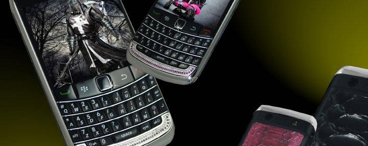 Diamond BlackBerry 9700 Bold II Precious Stone & Python Editions by Stuart Hughes