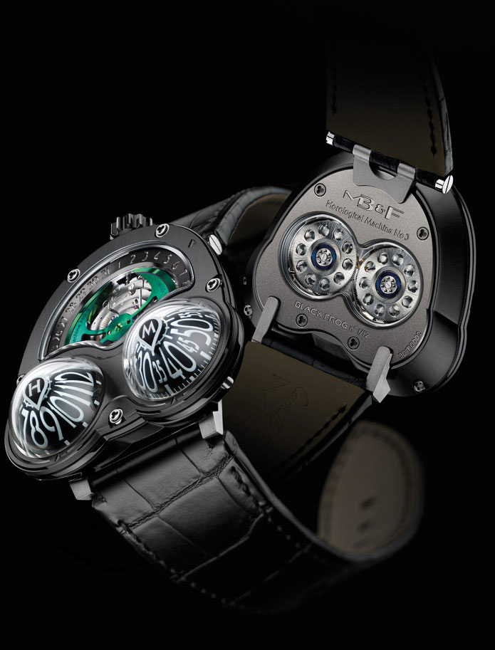 MB&amp;F Has Revealed His Latest Master Timepiece &#8211; Horological Machine N3 Frog