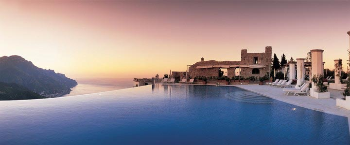 Infinity Pool at Hotel Caruso Belvedere
