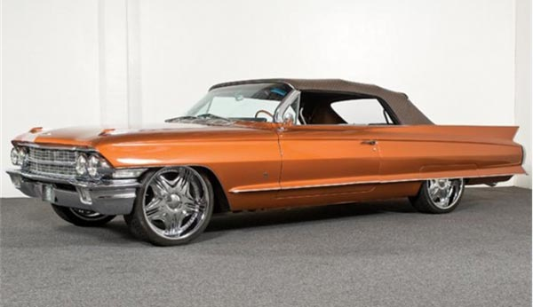 Customized Louis Vuitton 1962 Cadillac