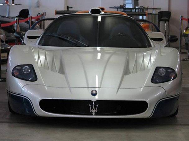 Maserati MC12 Stradale Signed by Michael Schumacher