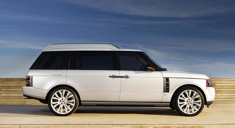 Q-VR Range Rover Created by Design Q Allows You to Travel in Full Comfort