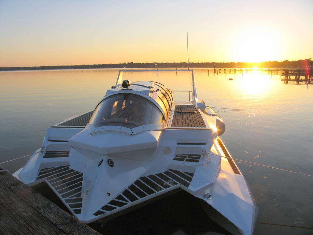 Submarine Powerboat from Marion HSPD