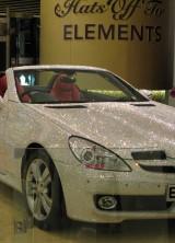 Mercedes SLK 200 Coated with Swarovski Crystals
