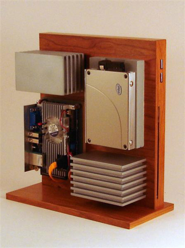 Wooden Level Eleven PC Chassis