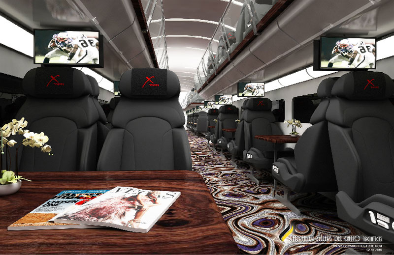 X Train – Luxury Casino Train From LA to Vegas