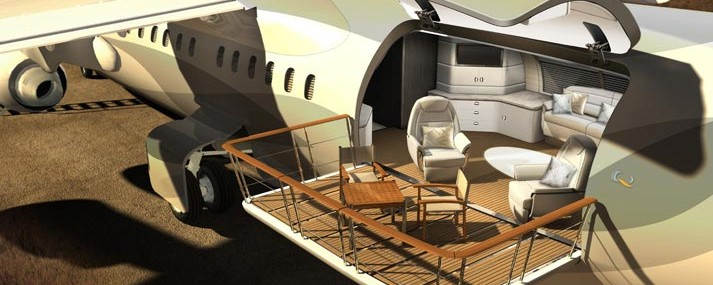 BAE Systems and Design Q Present Avro Business Jet Concept Planes