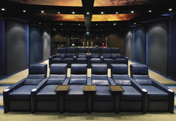 part home theater part laser light show - Best Home Theater Design