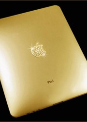 The Solid Gold iPad Supreme Edition Uniquely Designed and Crafted by Katherine Hughes