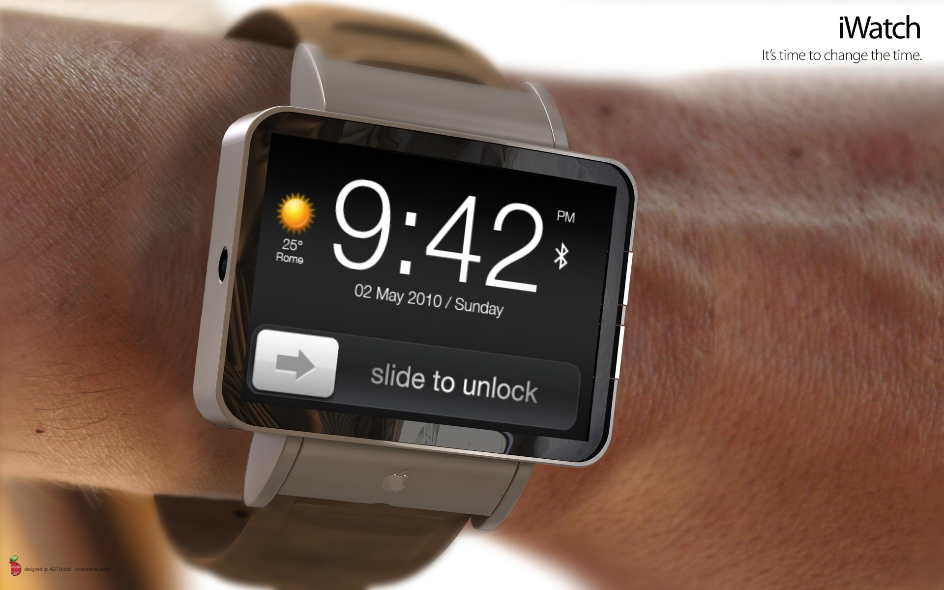 Apple iWatch Concept &#8211; iPhone on Your Wrist