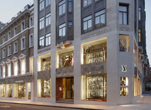 louis vuitton opened its new flagship london store