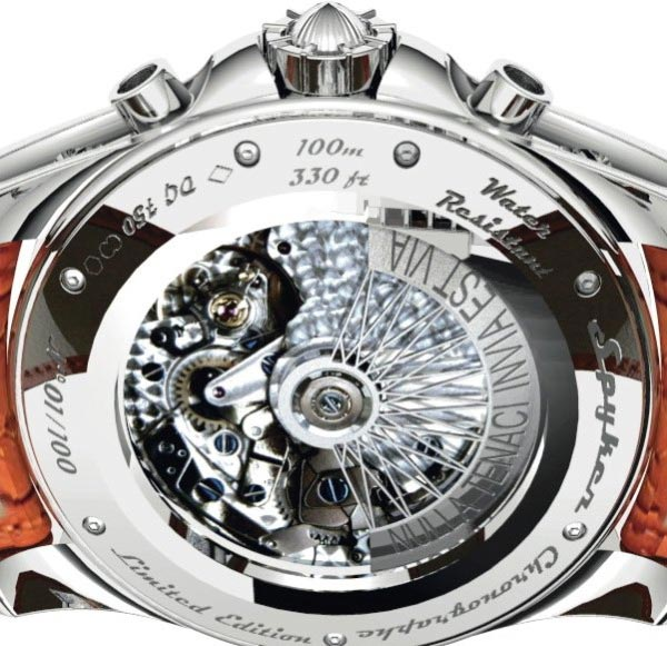 Spyker High-luxury Wristwatches Revealed