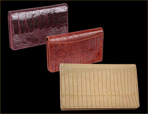Luxurious Hand Finished Wallet by Stuart Hughes