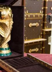 Louis Vuitton Unveil the 2010 FIFA World Cup Trophy Case