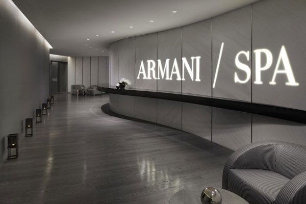 Armani Hotel in Burj Khalifa, Dubai Home to World's First In-Hotel Armani Spa
