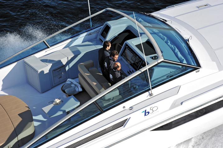 B50 New Generation Open Yacht from Baia Yachts Combine Latest Technology and Luxury Comforts