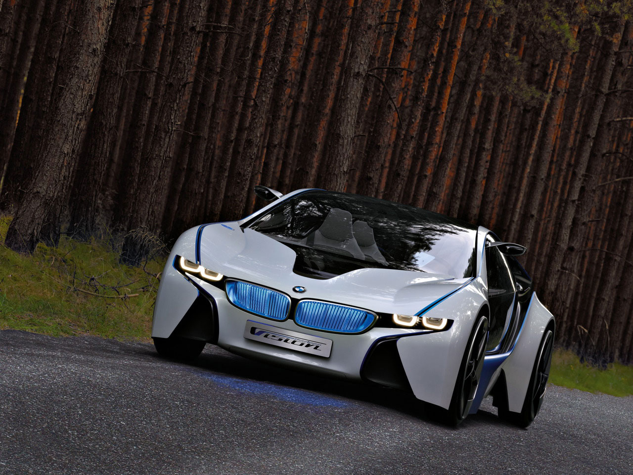 BMW M8 Hybrid Sports Car