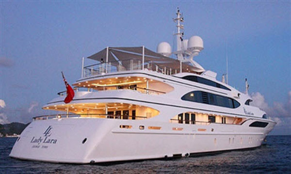Lady Lara Megayacht by Benetti and Fendi Casa