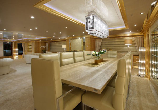 Lady lara yacht exceptional synergy of italian style and for Yacht design milano