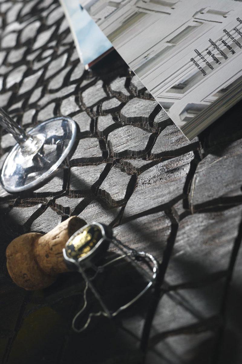 Crocodile Skin Wooden Floor by QuadroLengo