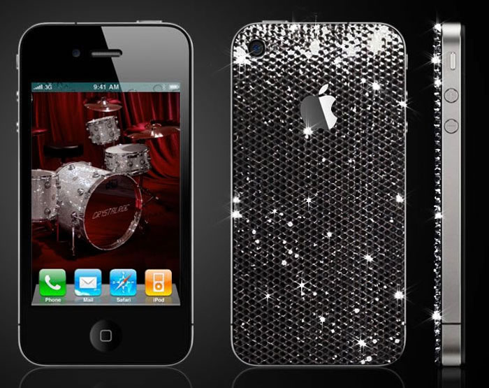 CrystalRoc Bejeweled Your iPhone 4 with Swarovski Crystals
