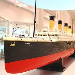 Handmade Model of Titanic Up for Sale