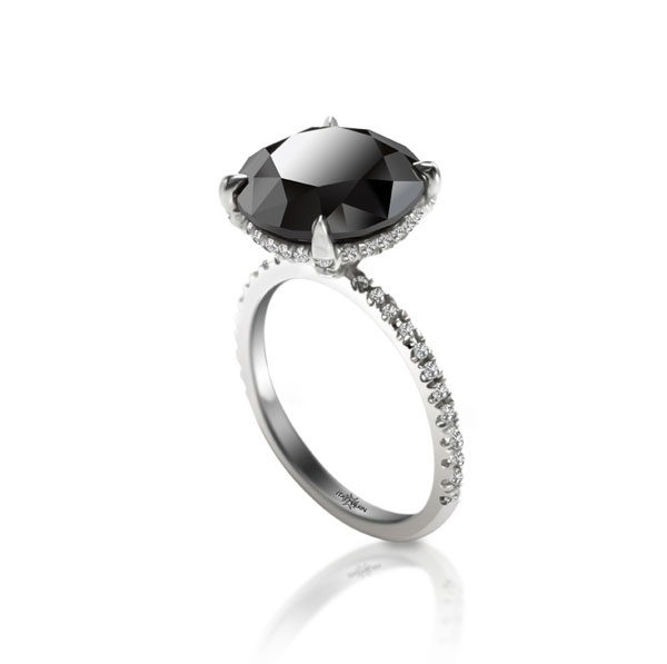 Itay Malkin Black Diamond Ring