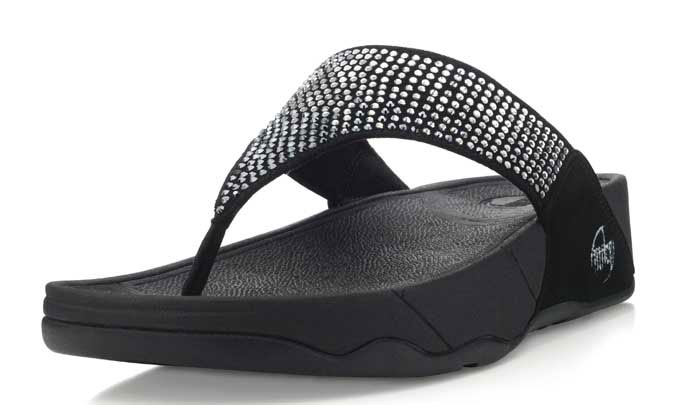 55a913006 Limited Edition Rockstar Walkstar Flip Flops with Swarovski Crystals ...
