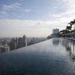 Marina Bay Sands Hotel – Infinity Pool 55 Storeys Above Ground Opens in Singapore