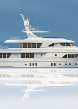 Moonen 133 Super Yacht Has a Submarine Onboard Able to Explore the Depths up to 100m