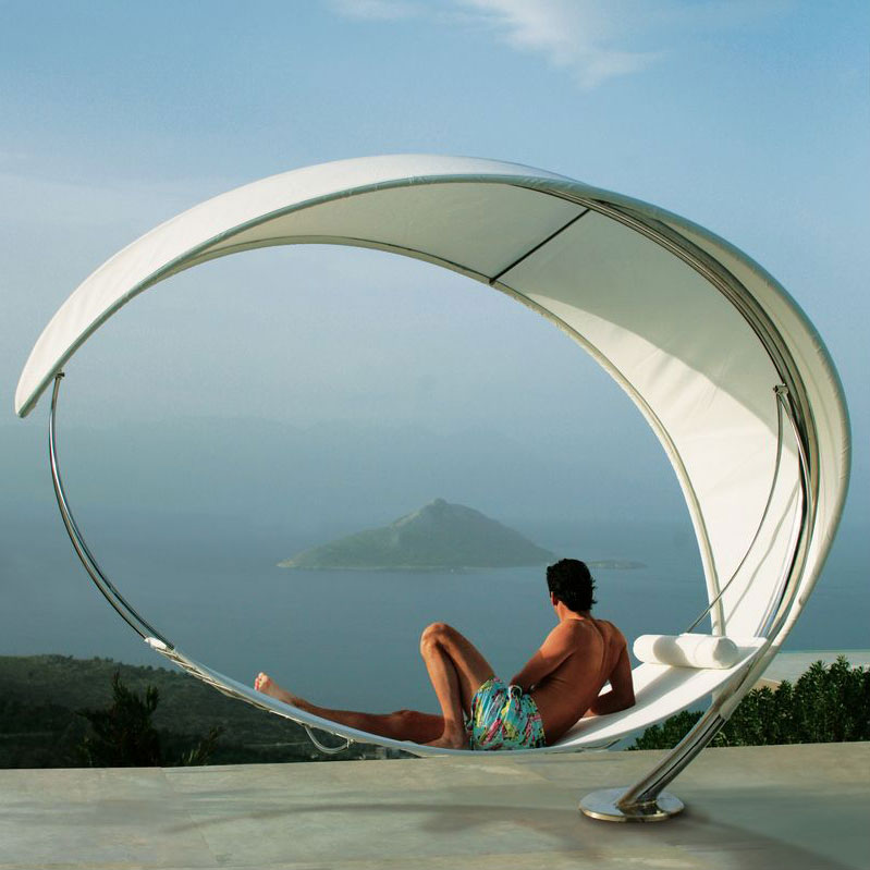 Relax in Style in Amazing Petiole Hammock