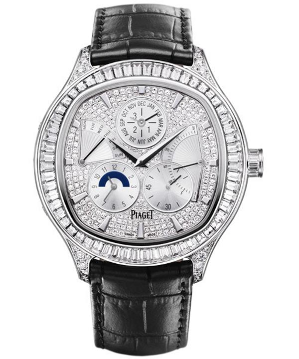 Piaget Created Their Millionth Chronograph &#8211; Piaget Emperador Full-Set Coussin Perpetual Calendar