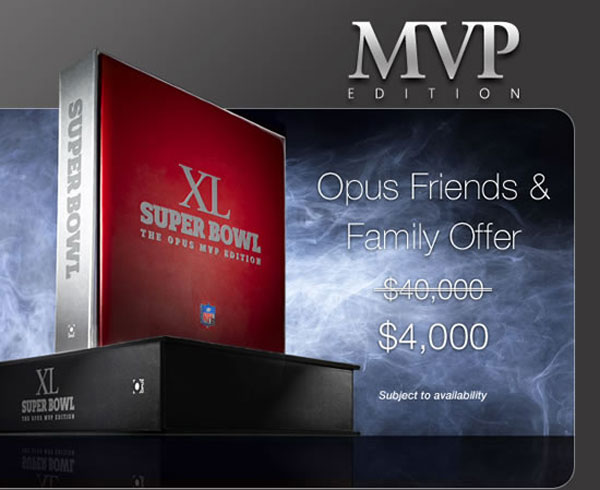 Limited Edition Super Bowl MVP Edition