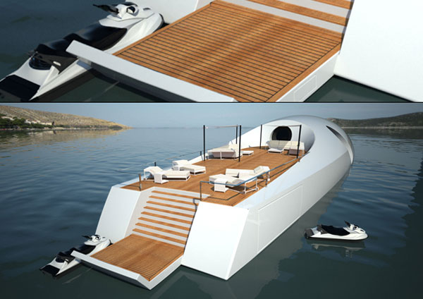 U-101 Undersea Yacht – The Perfect Luxury Underwater Boat for Your Travelling Pleasure