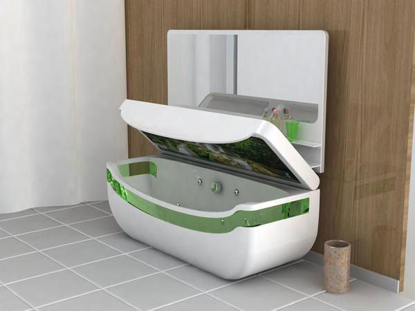 Whirlpool Bath Tub & Washbasin Unit - A Bathroom Located in Your ...