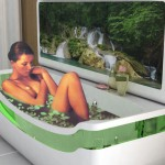 Whirlpool Bath Tub & Washbasin Unit – A Bathroom Located in Your Room