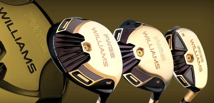 Williams Sports Gold Series Golf Clubs