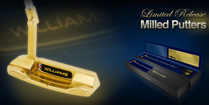 Williams Sports Limited Edition Milled Putters